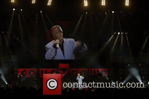 Richard Gower performing at the Countdown Spectacular in...