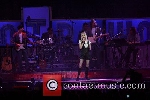 Sharon O'Neill performing at the Countdown Spectacular in...