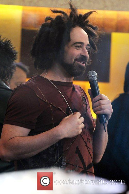 Adam Duritz of the Counting Crows appears on...