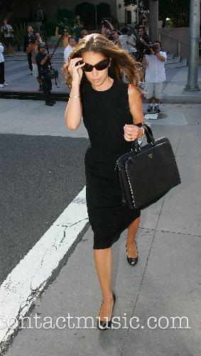 Laura Wasser  lawyer for Britney Spears arriving...