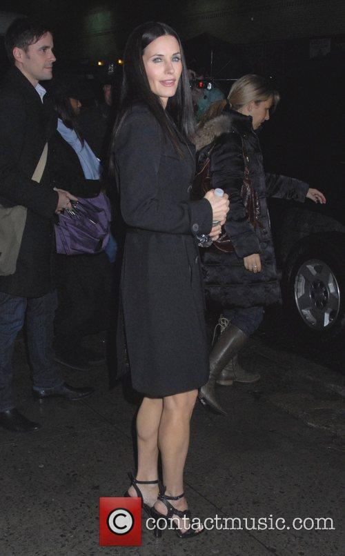 Courteney Cox and David Letterman 1