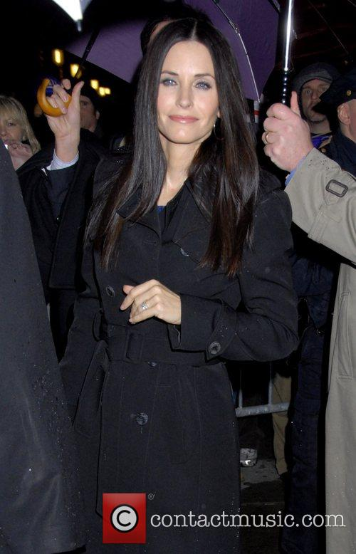 Courteney Cox and David Letterman 7