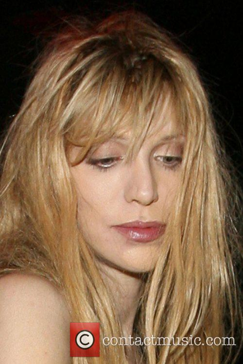 Courtney Love leaving the Punk night club in...