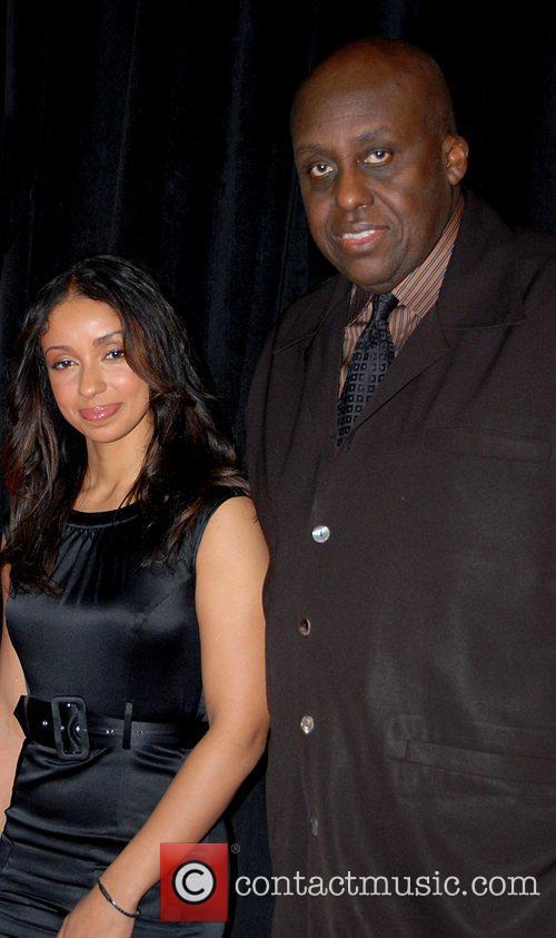 Mya and Bill Duke Premiere of Cover held...