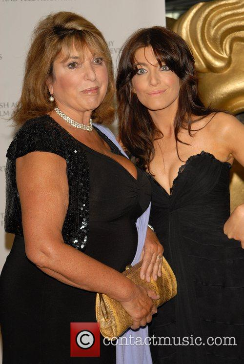 Eve Pollard and Claudia Winkleman British Academy Television...