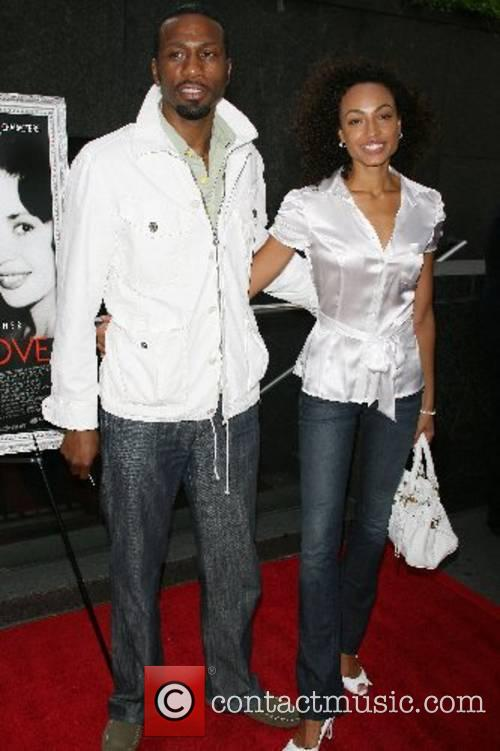 Leon Robinson, Ebony Jones New York Premiere of...