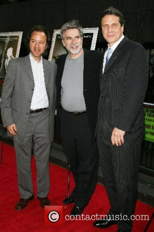 Fisher Stevens, Dan Klores, Andrew Cuomo New York...