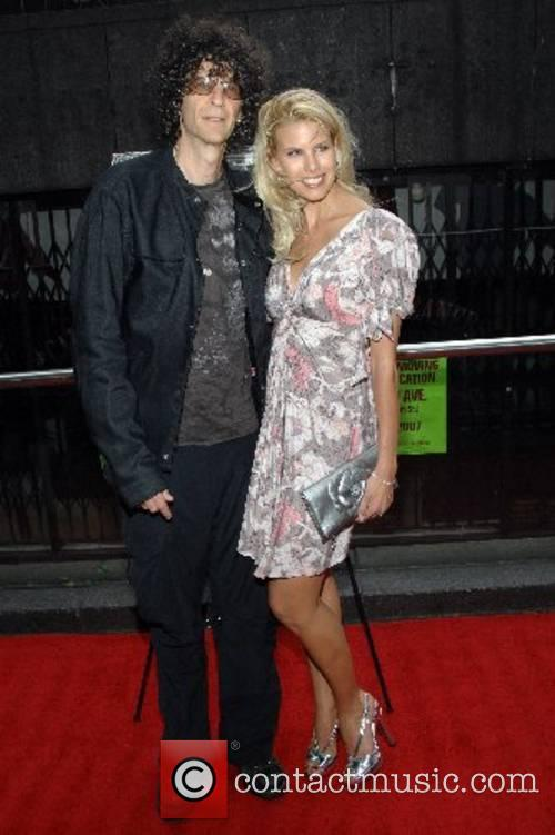 Howard Stern and Beth Ostrosky New York Premiere...