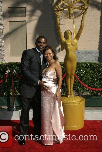 Mekhi Phifer and fiance 1
