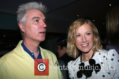 David Byrne and Cindy Sherman Creative Time at...
