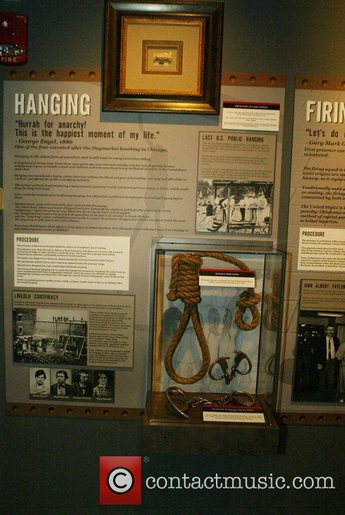Hanging Crime Fighter John Walsh's Museum of Crime...