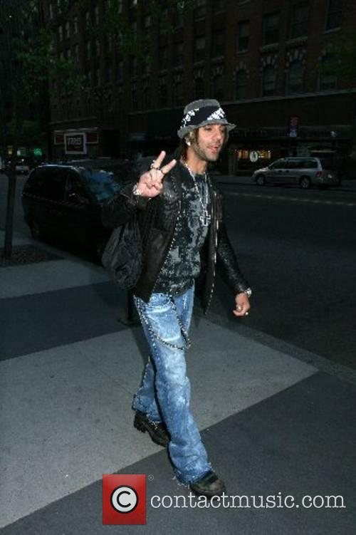 Arriving for the ' CW11 Morning Show' in...