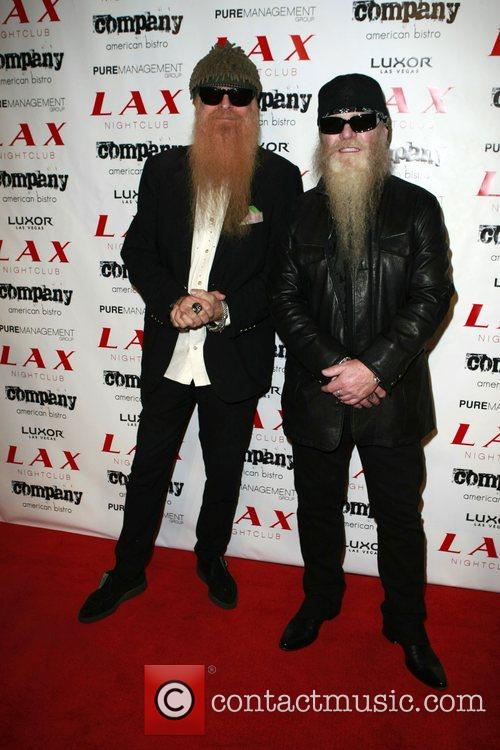 Billy Gibbons and Dusty Hill from ZZ Top...
