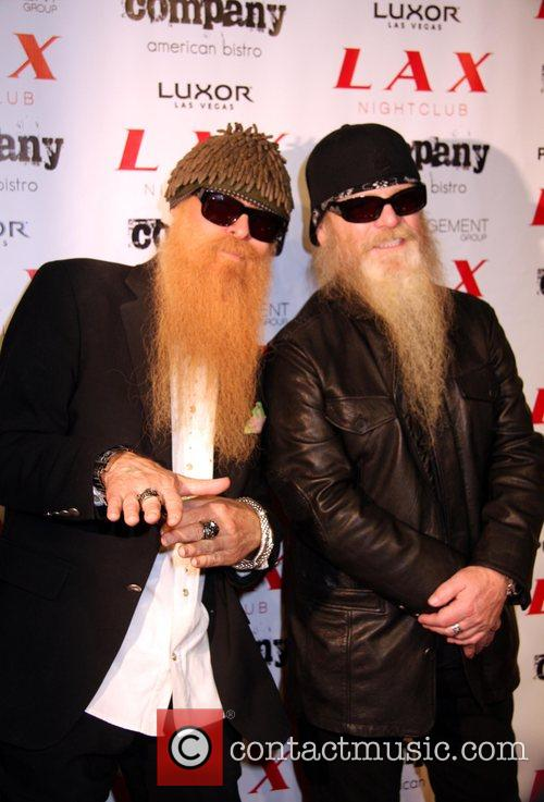 Billy Gibbons and Dusty Hill of ZZ Top...