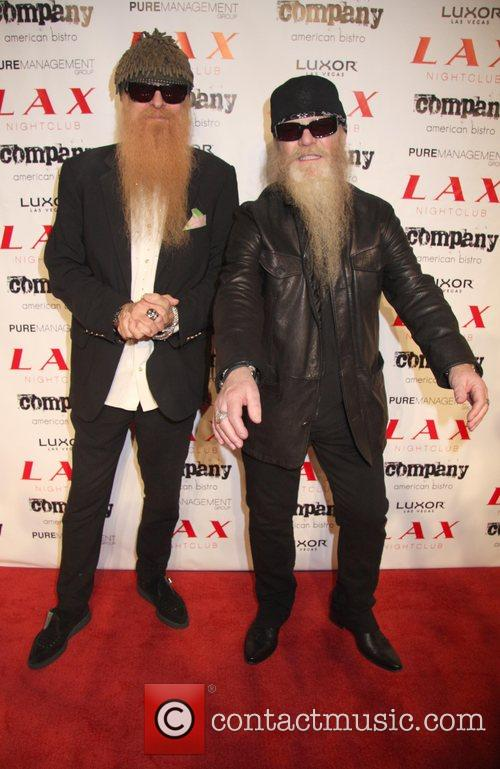 Billy Gibbons, Dusty Hill of ZZ Top Criss...