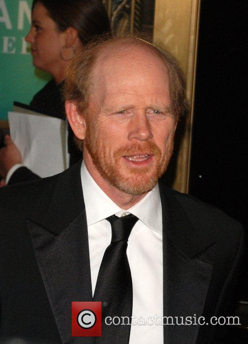 Ron Howard attending the Tom Cruise black-tie salute...