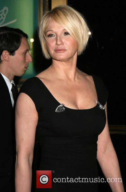 Ellen Barkin attending the Tom Cruise black-tie salute...
