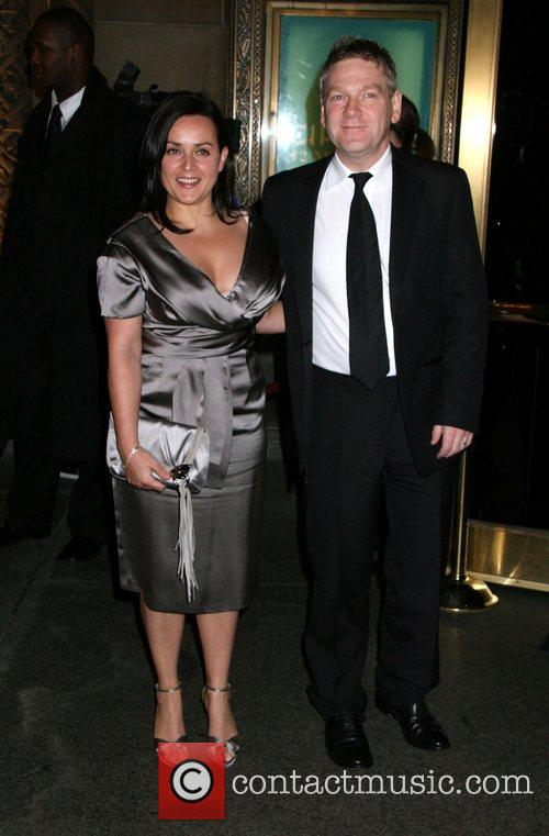 Lindsay Brunnock and Kenneth Branagh attending the Tom...