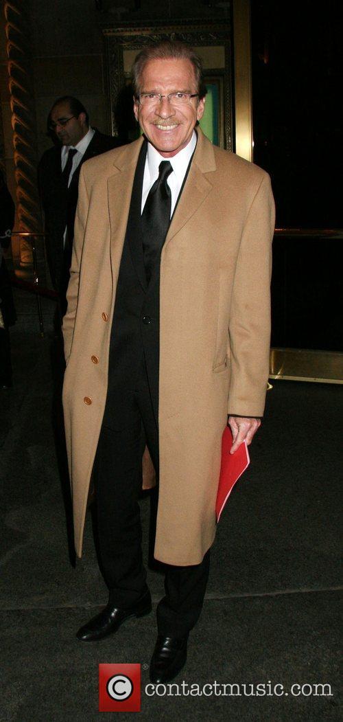 Pat O'Brien attending the Tom Cruise black-tie salute...