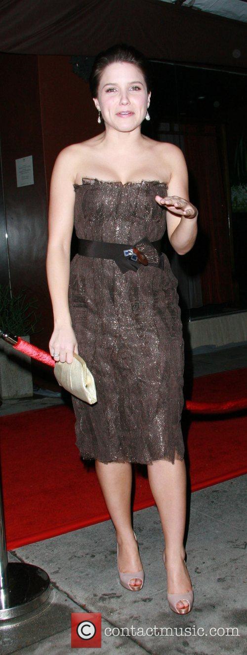 Sophia Bush at Crustacean Restaurant in Beverly Hills...