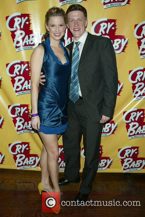 Allison Spratt and Brendan King Opening Night of...