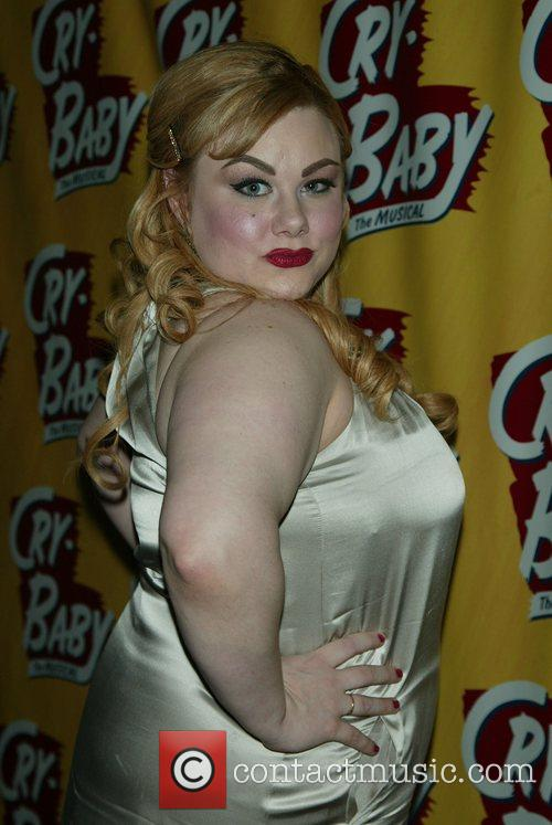 Carly Jibson Opening Night of the Broadway musical...