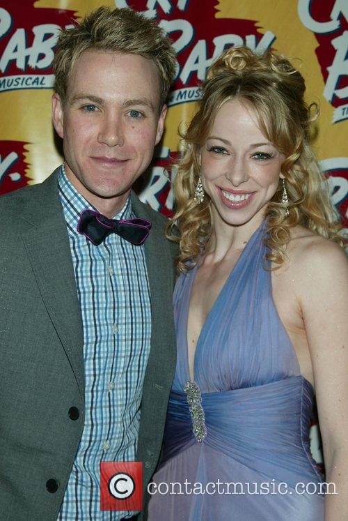 Christopher J. Hanke and Lacey Kohl Opening Night...