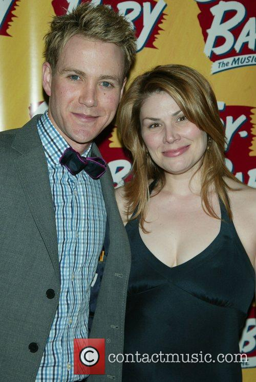 Christopher J. Hanke and Heidi Blickenstaff Opening Night...