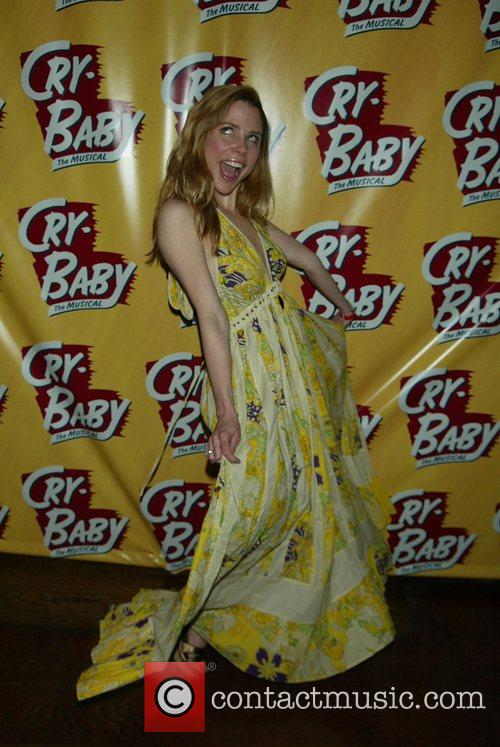 Kerry Butler Opening Night of the Broadway musical...