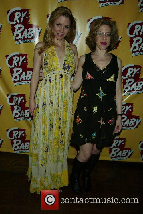Opening Night of the Broadway musical 'Cry Baby'...