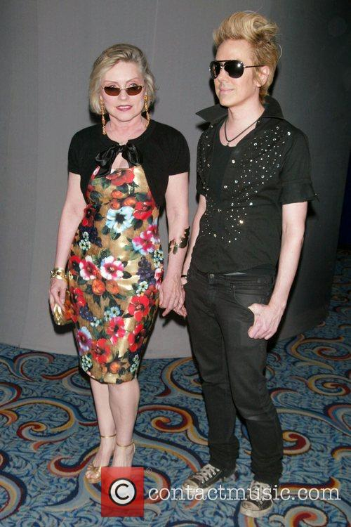 Debbie Harry and Miss Guy Opening Night of...