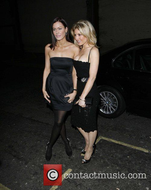 Guest attending Alex Curran's perfume launch party at...