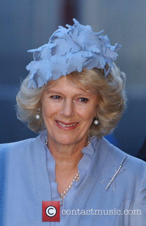 Camilla, Duchess of Cornwall  arrives for a...