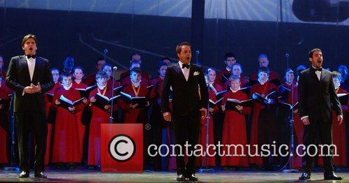Perform with choirs at the naming ceremony of...