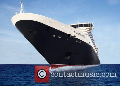 The Cunard liner Queen Victoria was officially named...
