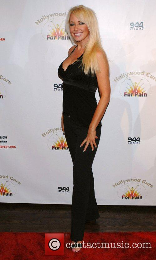 Robin Bain 'Hollywood Cure for Pain' kick-off party...