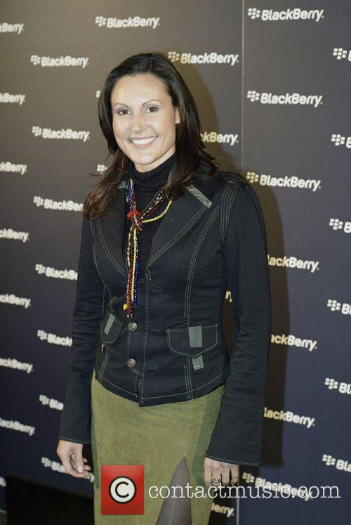 Renee Brack  Launch of the Blackberry Curve...