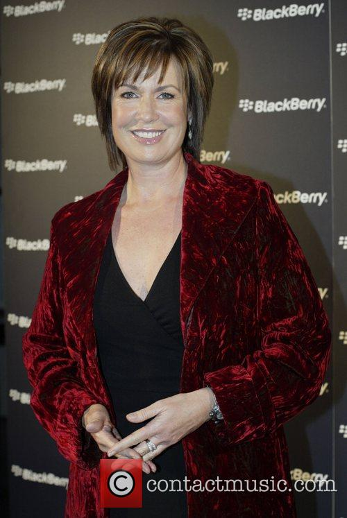 Tracey Grimshaw  Launch of the Blackberry Curve...