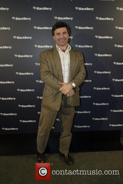 Benny Elias Launch of the Blackberry Curve mobile...