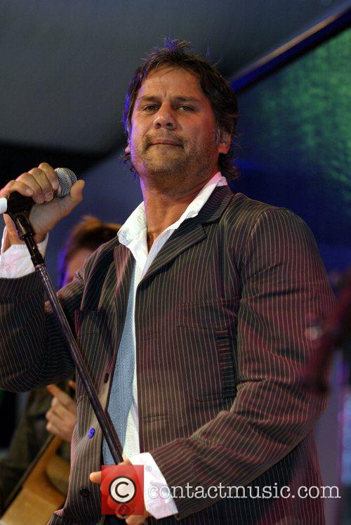 Jon Stevens performing Launch of the Blackberry Curve...