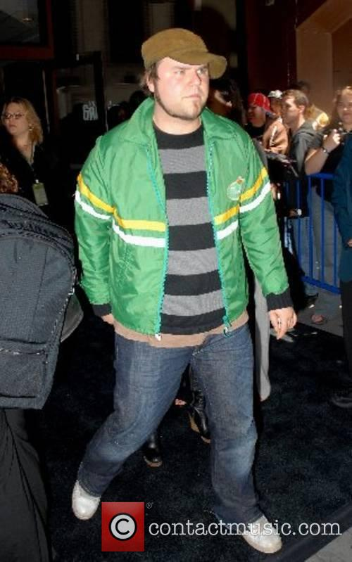 Tyler Labine CW11 Upfronts held at Madison Square...