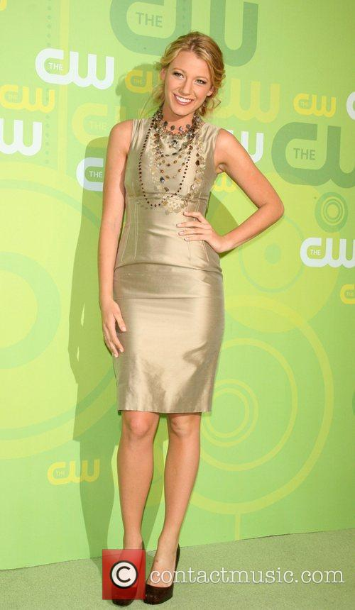 Blake Lively CW Network 2008 Upfronts at the...