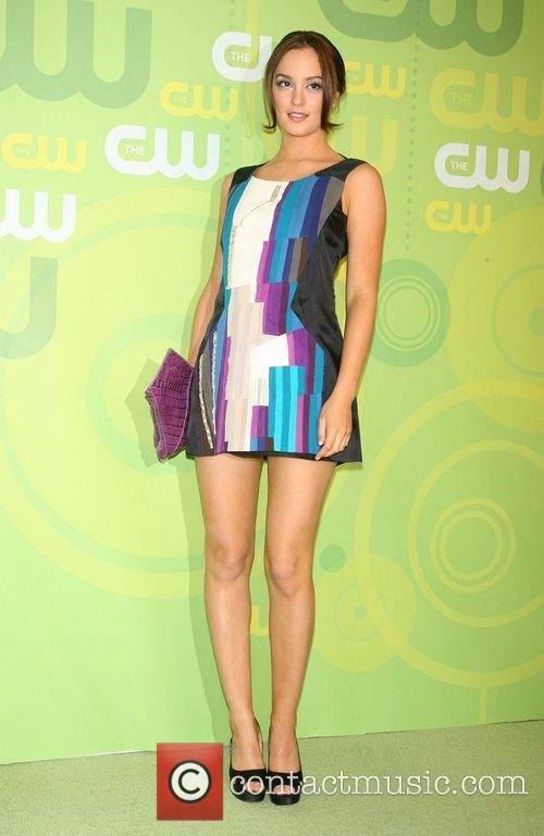 Leighton Meester CW Network 2008 Upfronts at the...