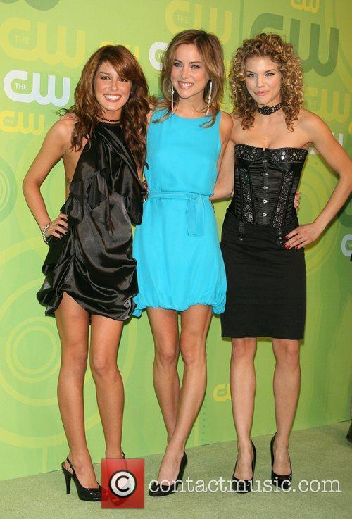 Shenae Grimes, Jessica Stroup and AnnaLynne McCord CW...