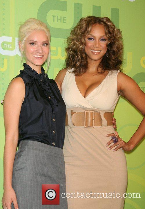 Anya Kop and Tyra Banks CW Network 2008...