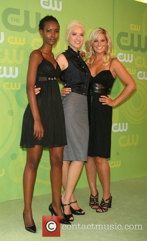 Fatima Siad, Anya Kop and Whitney Thompson CW...