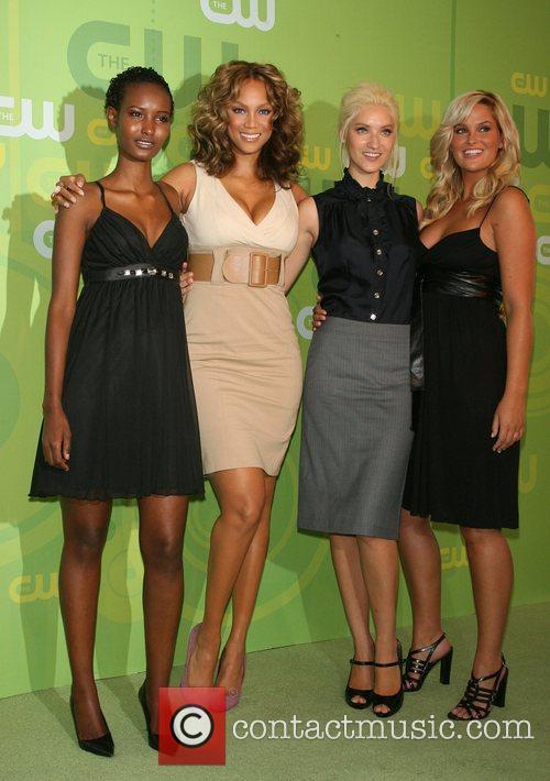 Fatima Siad, Tyra Banks, Anya Kop and Whitney...