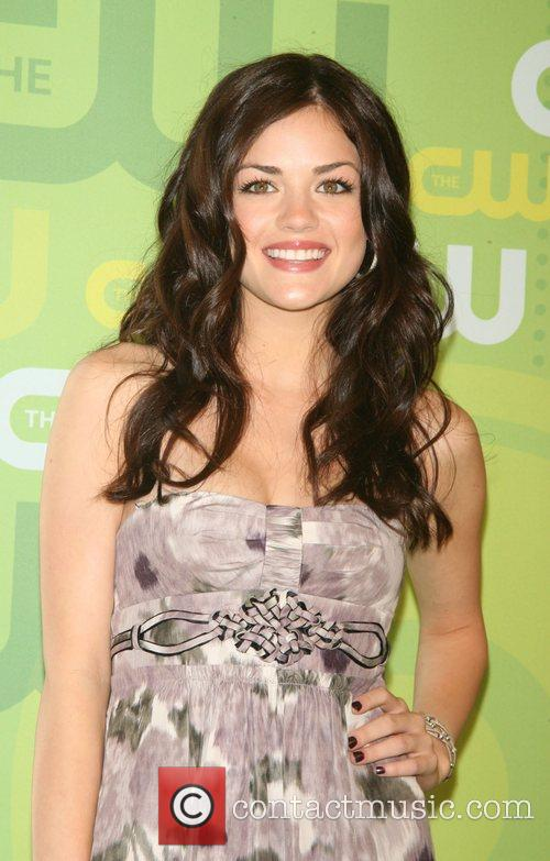 Lucy Hale CW Network 2008 Upfronts at the...