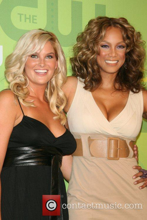 Whitney Thompson and Tyra Banks CW Network 2008...