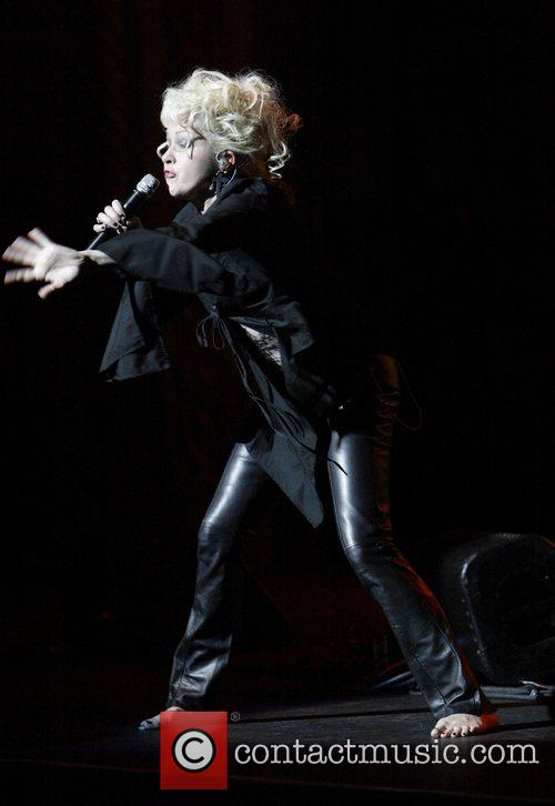 Cyndi Lauper  performing live in concert at...